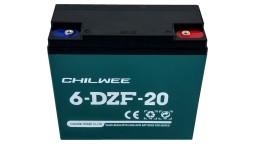ΜΠΑΤΑΡΙΑ 6-DZF-20 CHILWEE VRLA AGM 12V 20AH c2