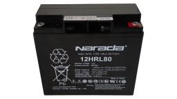 ΜΠΑΤΑΡΙΑ NARADA 12HRL80 VRLA AGM 12V18AH c20