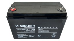 ΜΠΑΤΑΡΙΑ ACCUFORCE 12V100AH SUNLIGHT VRLA AGM