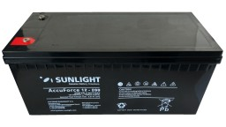 ΜΠΑΤΑΡΙΑ ACCUFORCE 12V200AH SUNLIGHT VRLA AGM