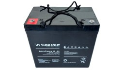 ΜΠΑΤΑΡΙΑ ACCUFORCE 12V55AH SUNLIGHT VRLA AGM
