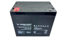 ΜΠΑΤΑΡΙΑ ACCUFORCE 12V75AH SUNLIGHT VRLA AGM