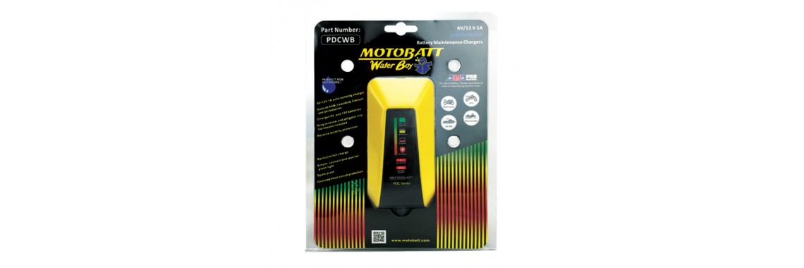 MOTOBATT PDC WATER BOY CHARGER