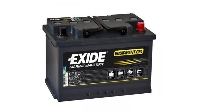 ΜΠΑΤΑΡΙΑ ES650 (G60) EXIDE
