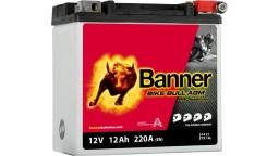 ΜΠΑΤΑΡΙΑ 51421 (ETX14L) BANNER BIKE BULL AGM PRO