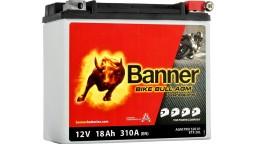 ΜΠΑΤΑΡΙΑ 52001 (ETX20L) BANNER BIKE BULL AGM PRO