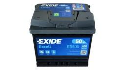 ΜΠΑΤΑΡΙΑ EB500 EXIDE EXCELL 50AH