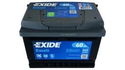 ΜΠΑΤΑΡΙΑ EB602 EXIDE EXCELL 60AH