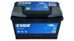 ΜΠΑΤΑΡΙΑ EB740 EXIDE EXCELL 74AH